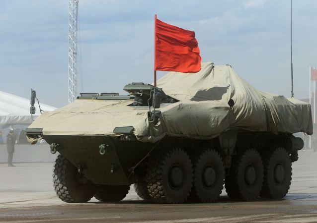 Véhicule de combat russe Boomerang