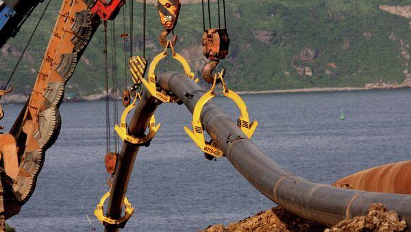 Строительство газопровода. Архивное фото - Sputnik France