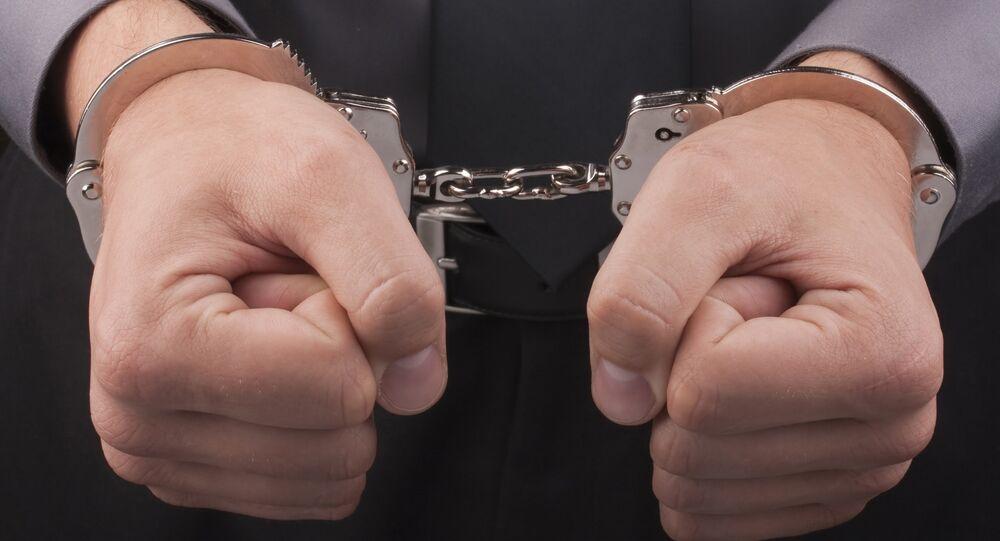 Un homme arrêté