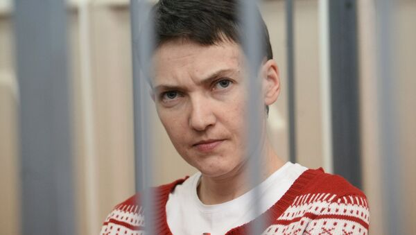 la pilote ukrainienne Nadejda Savtchenko - Sputnik France