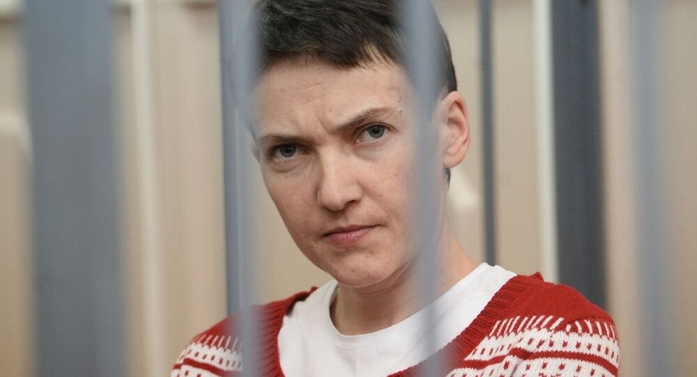 la pilote ukrainienne Nadejda Savtchenko