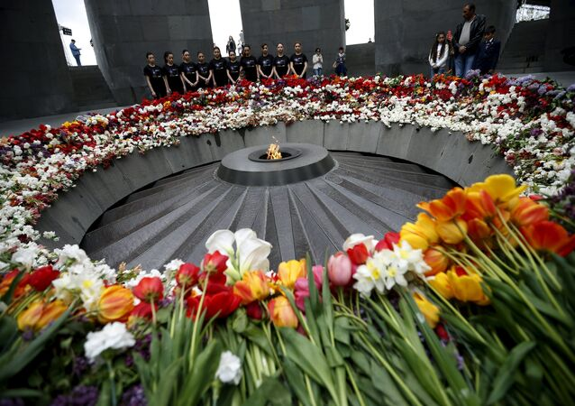 Monument dédié aux victimes du génocide arménien