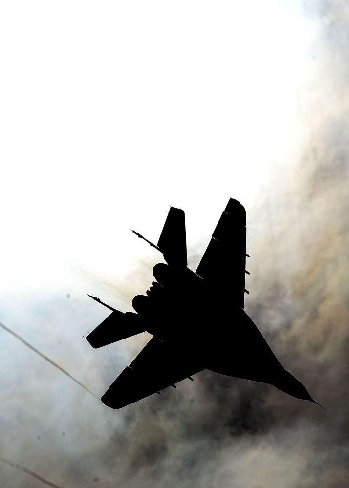 Moscou: répétition de l'aviation avant le Défilé de la Victoire
