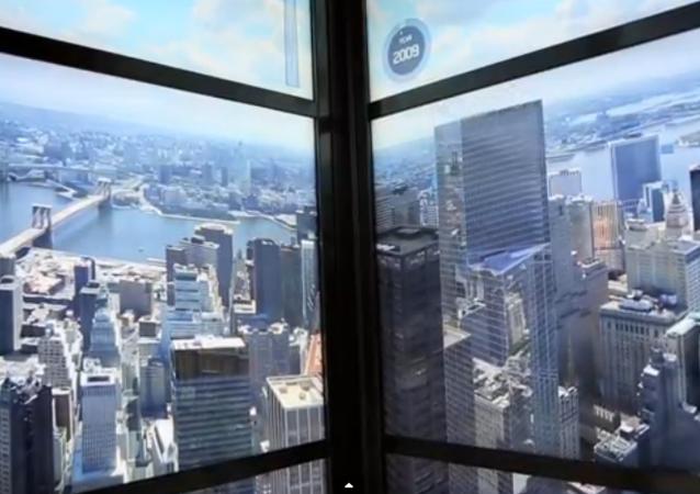 L'histoire de la construction de New York dans un ascenseur