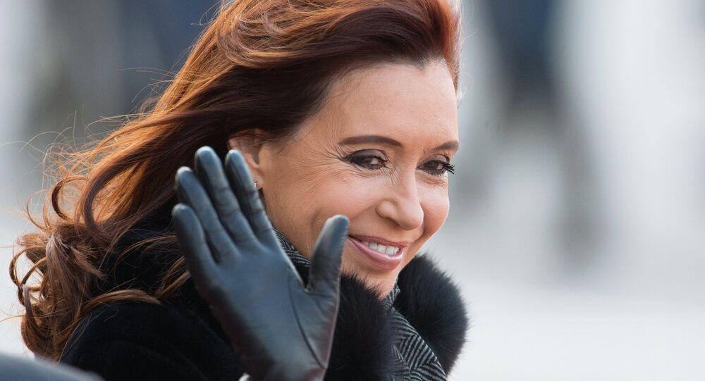 La présidente de la République argentine, Cristina Fernandez de Kirchner, est arrivée dans la capitale russe pour une visite officielle