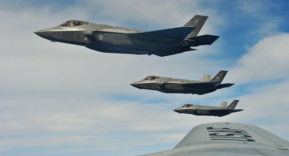 Les chasseurs F-35