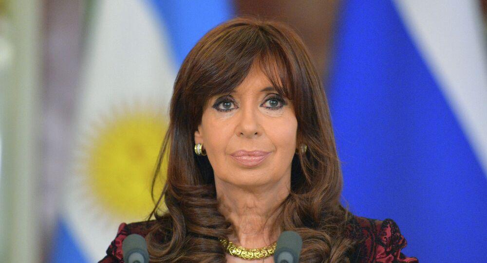 Christine Kirchner, présidente argentine