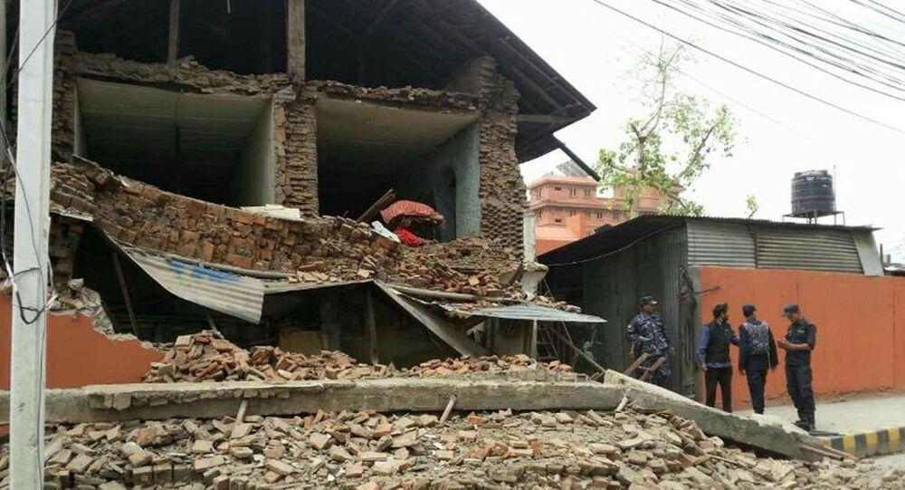 Séisme à Katmandou