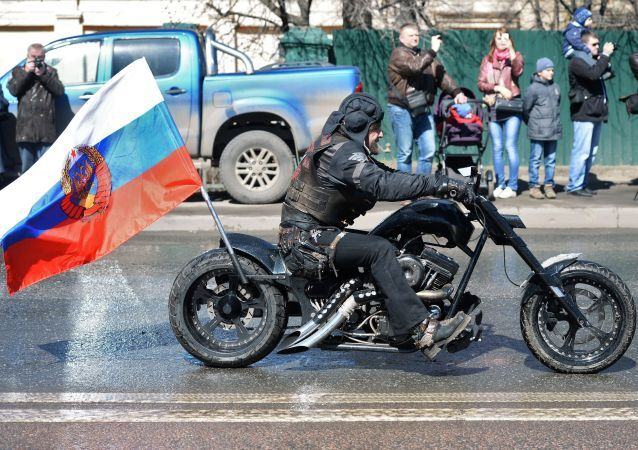 Alexandre Zaldostanov,  président du club des motards russes Loups de la nuit
