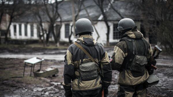 Ополченец Донецкой народной республики - Sputnik France