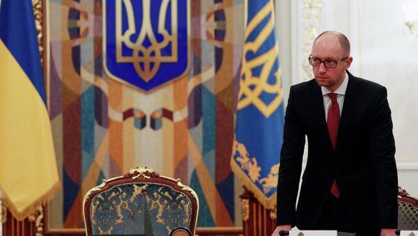 Ukraine's Prime Minister Arseny Yatsenyuk - Sputnik France
