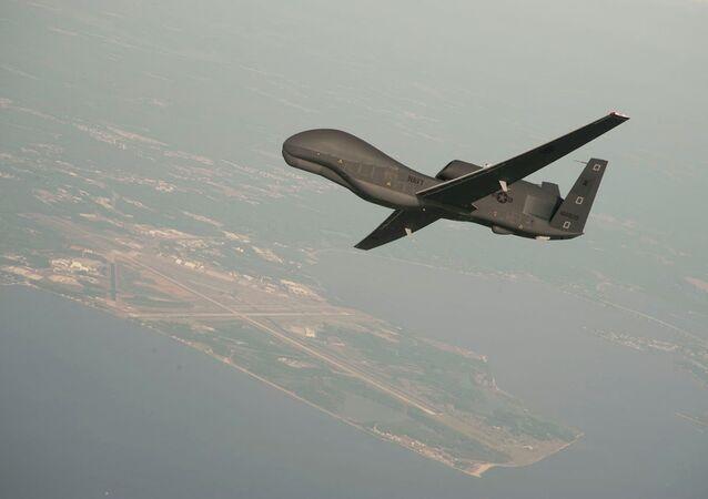 Un drone Global Hawk
