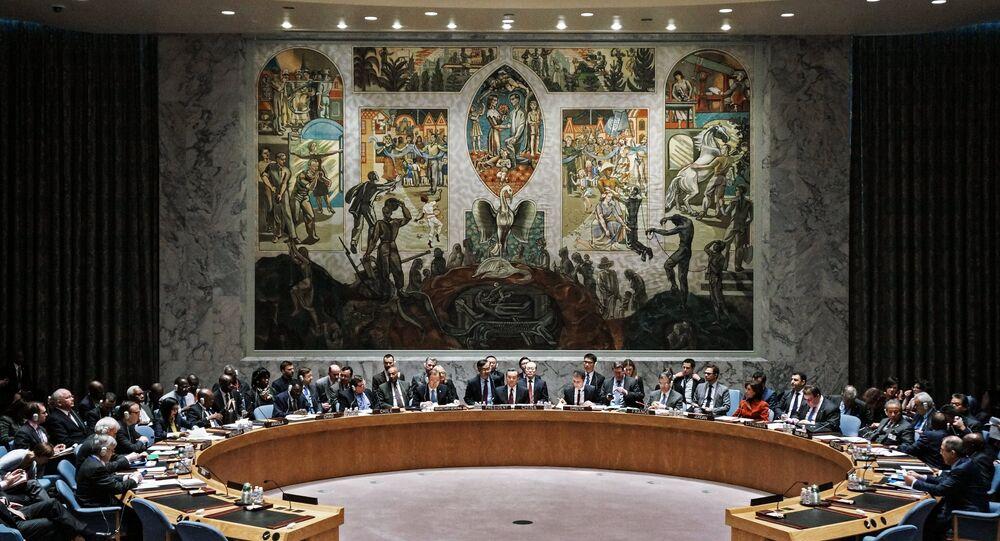 Séance ouverte du Conseil de sécurité de l'ONU
