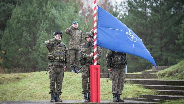 Raising of the NATO flag - Sputnik France