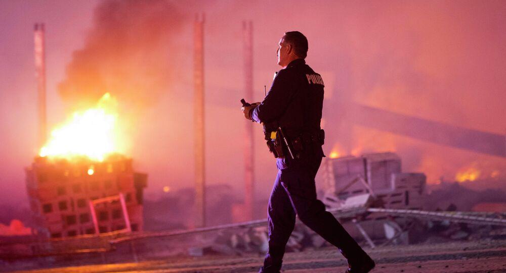 Un policier à Baltimore