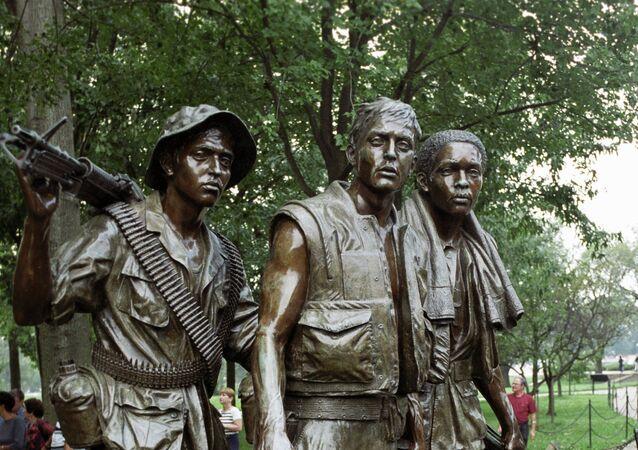 Monument aux soldats américains ayant participé à la guerre du Vietnam
