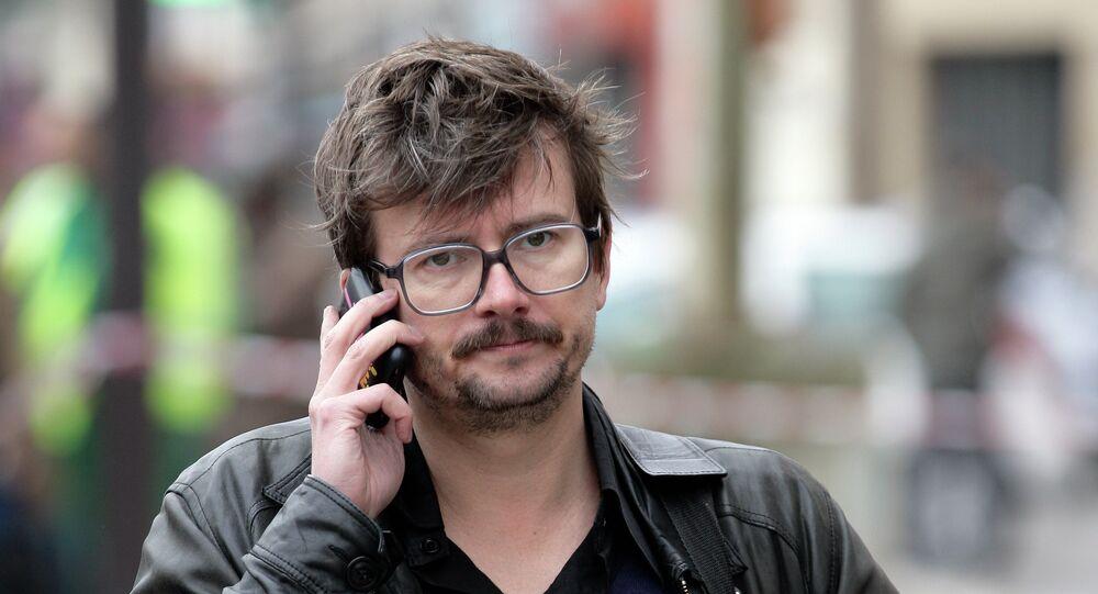 Luz, dessinateur de l'hebdomadaire satirique français Charlie Hebdo