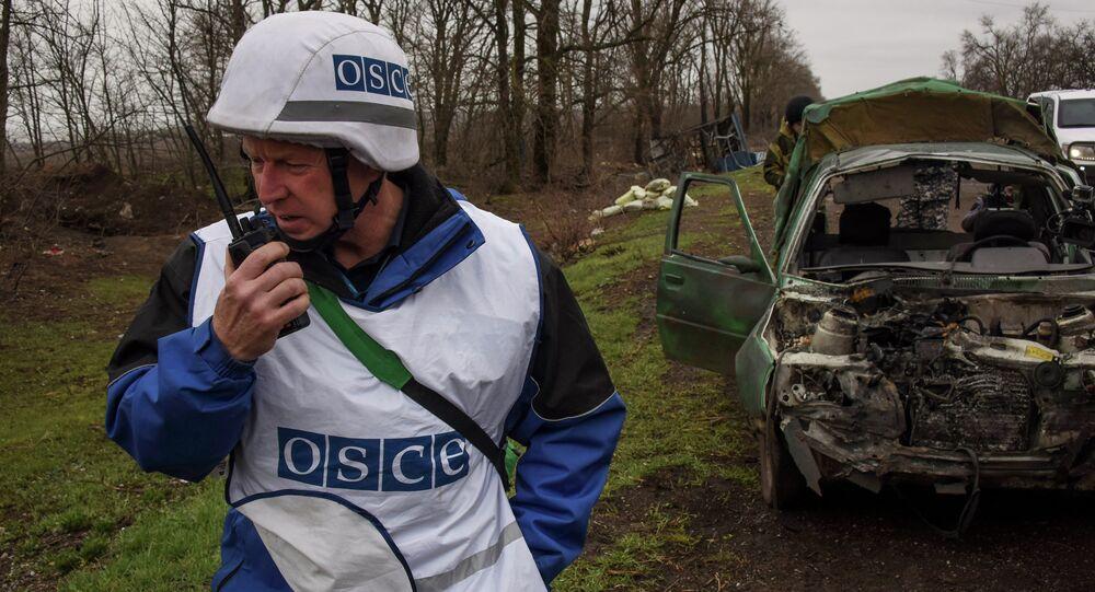 Observateur de l'OSCE dans le Donbass