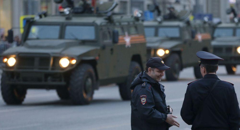 Répétition du défilé militaire du Jour de la Victoire à Moscou
