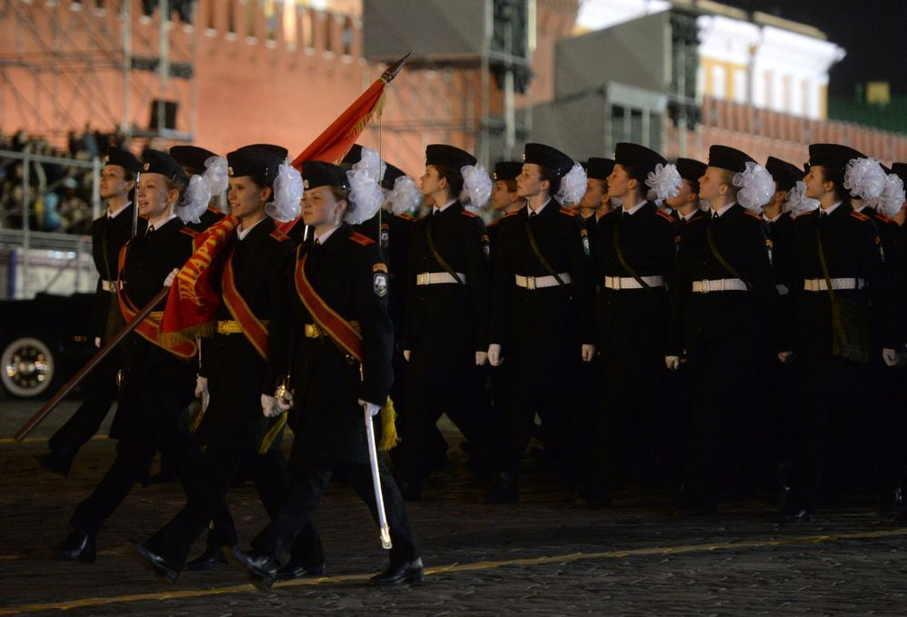 Moscou: répétition nocturne de la Parade de la Victoire