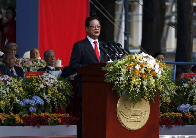 Premier ministre vietnamien Nguyen Tan Dung