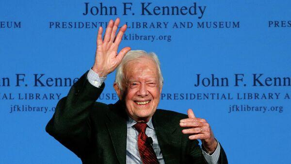 L'ancien président américain Jimmy Carter - Sputnik France