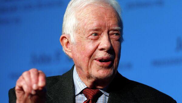 L'ancien président des Etats-Unis Jimmy Carter - Sputnik France