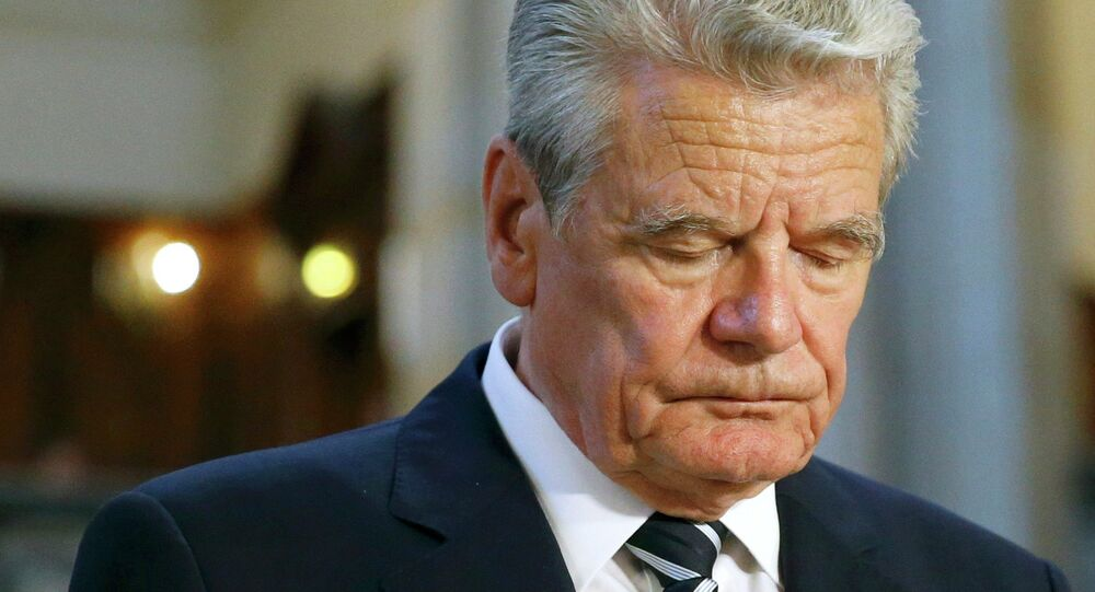 Président allemand Joachim Gauck