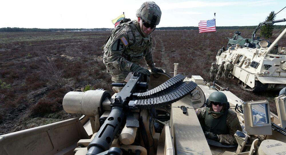 Militaires américains à Pabrade