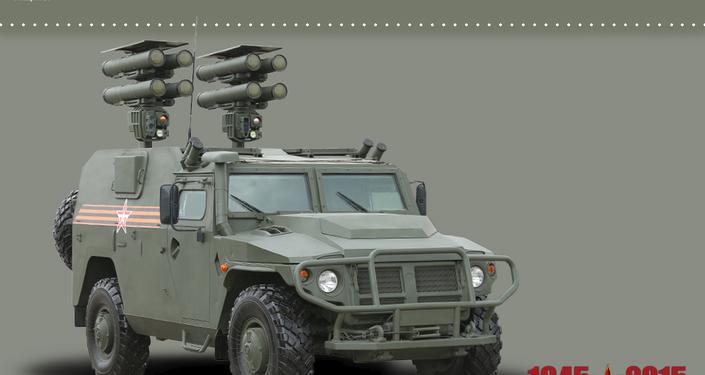 Lancement mobile des missiles antichar Kornet-D1