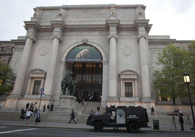 Musée d'Histoire naturelle de New York, Mai 5, 2015.