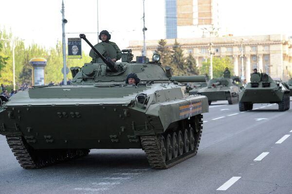 Ukraine/Donetsk: une répétition du défilé de la Victoire - Sputnik France