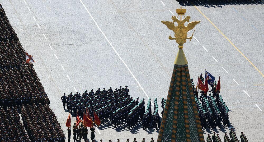 Parade de la Victoire, Moscou. Archive photo