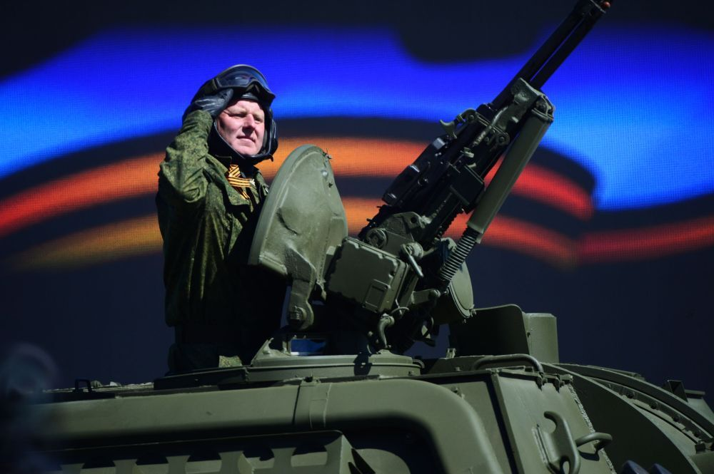 Moscou: répétition générale du défilé de la Victoire