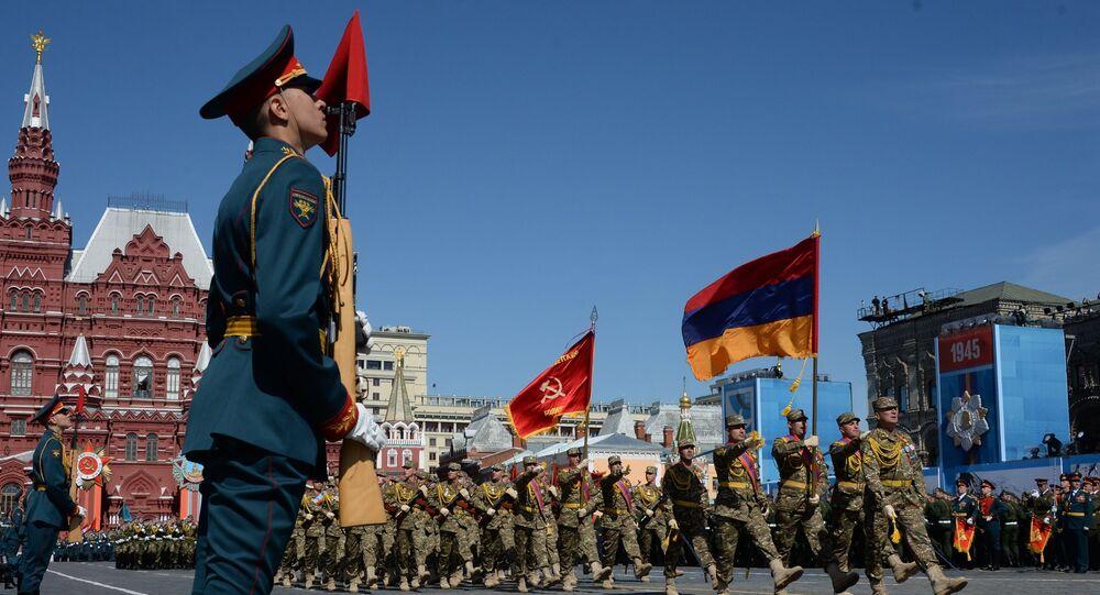 Répétition du défilé de la Victoire, Moscou