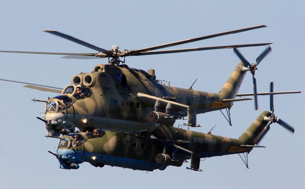 Hélicoptère d'attaque Mil Mi-24