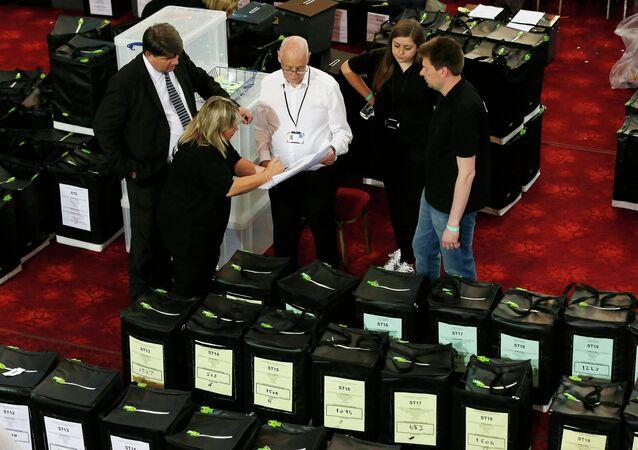 Elections en Grande-Bretagne