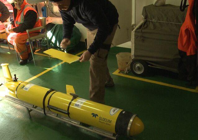 Norvège: l'Otan teste un drone sous-marin