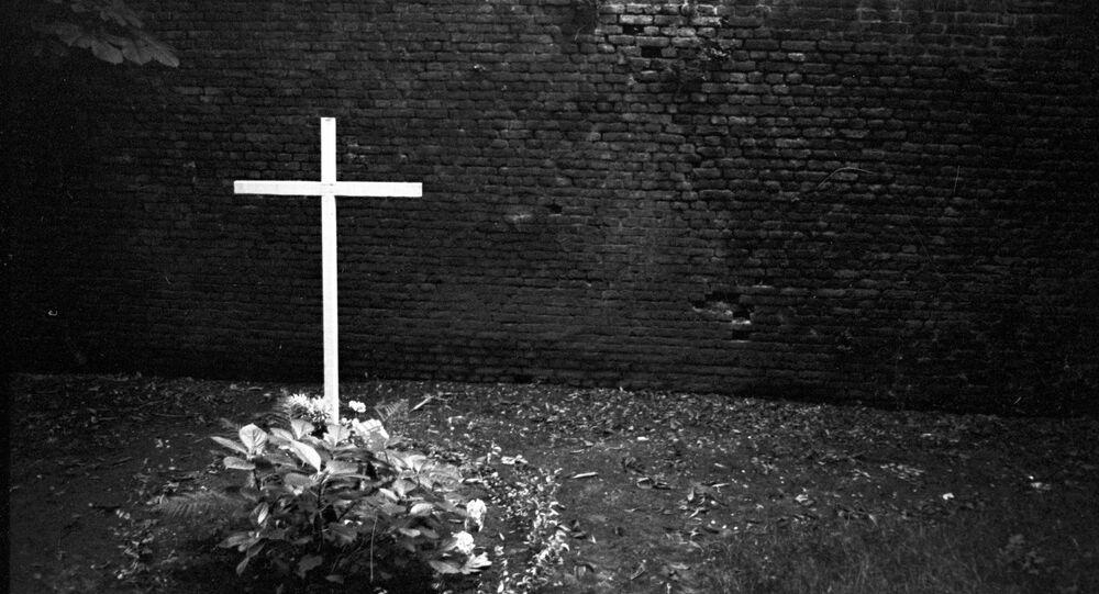 Fosse commune des prisionniers de guerre soviétiques à Liège (archives)