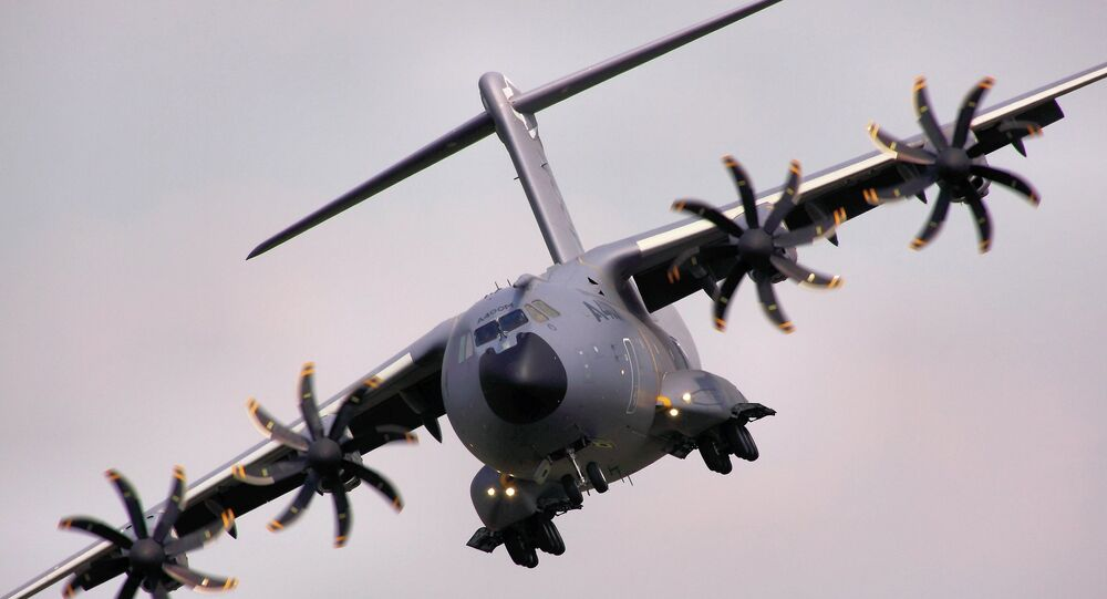 Avion de transport militaire A400 M