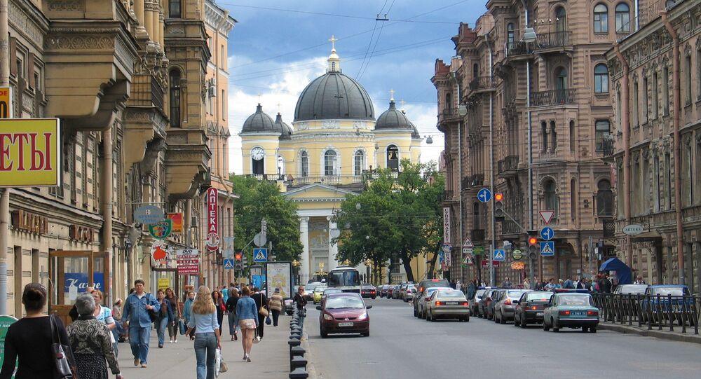 Avenue Liteyny, Saint-Pétersbourg