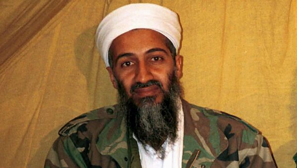 Al-Qaeda leader Osama bin Laden in Afghanistan. (File) - Sputnik France