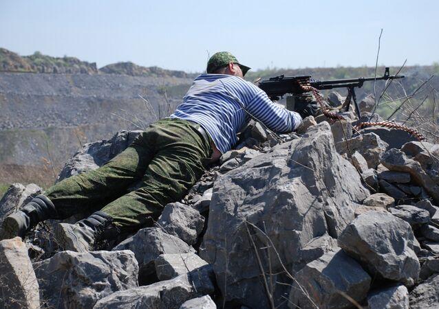 Milicien du Donbass