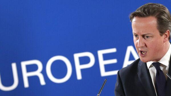 British PM David Cameron - Sputnik France