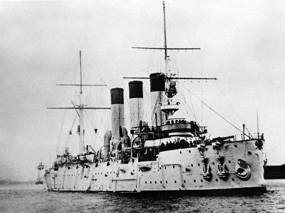 Croiseur Aurore, le 1er septembre 1904