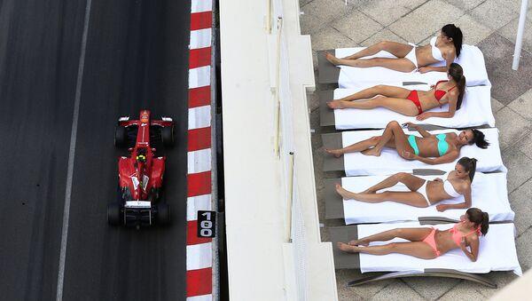 Formule 1: les plus belles filles sur la grille - Sputnik France