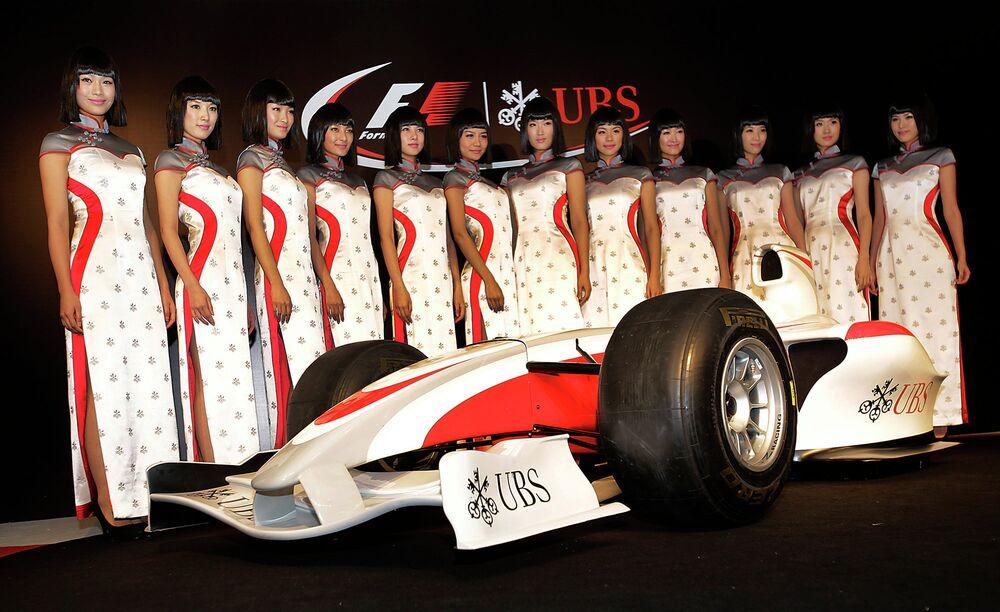 Formule 1: les plus belles filles sur la grille