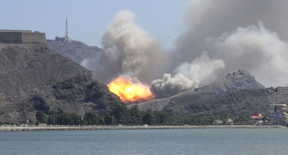 Aden, Yémen, l'image d'illustration