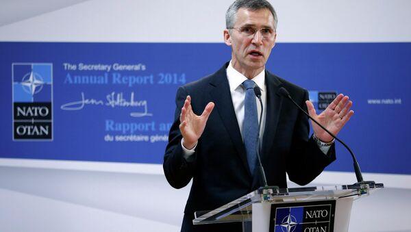 Jens Stoltenberg, secretaire général de l'OTAN - Sputnik France