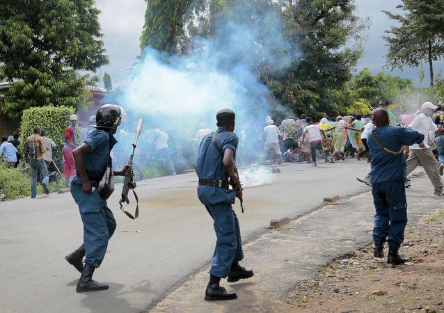 Manifestants au Burundi (archives)